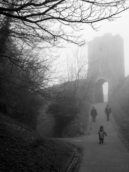 Foggy Castle Walk