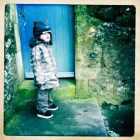 Roman at the castle gate
