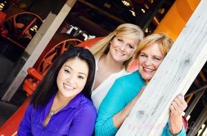 Portrait, Mom & Daughters